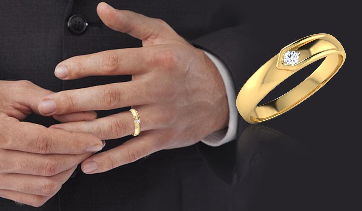 Alasan Cocok Memakai Cincin Berlian Pria
